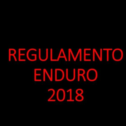 Regulamento Enduro 2018